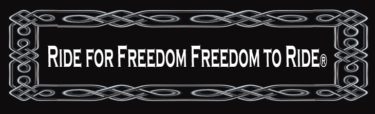 Ride for Freedom Freedom to Ride® is a Division of Voxie Denim® Inc All Rights Reserved